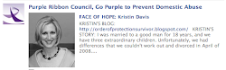 Purple Ribbon Council's Face of Hope: Kristin Davis