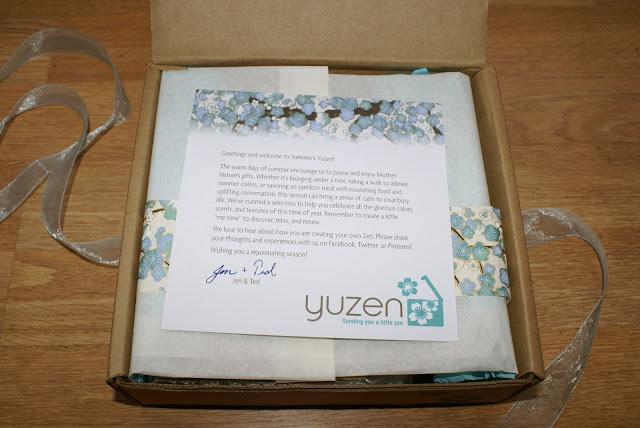 Yuzen Note
