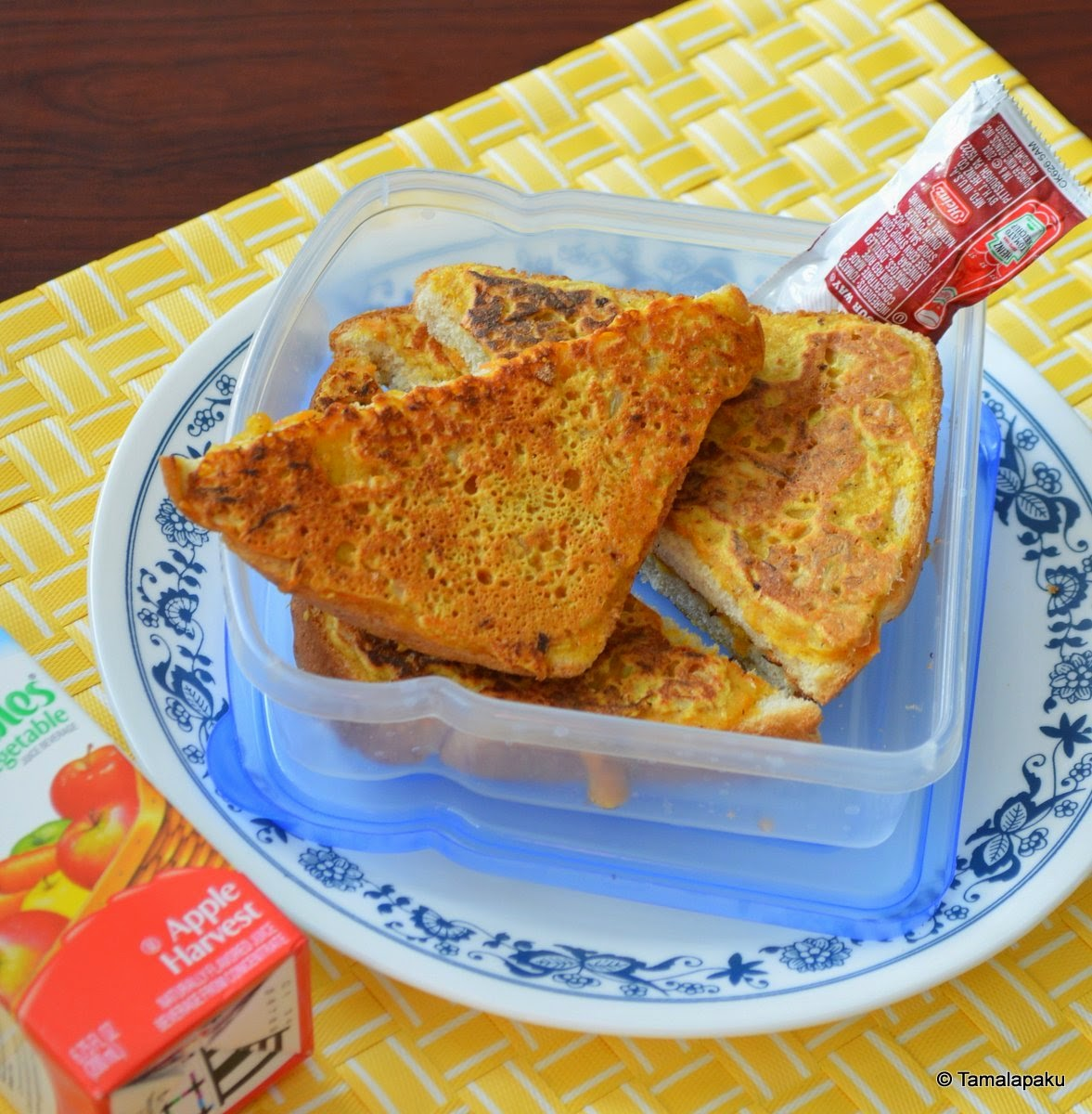 Vegan Savory French Toast
