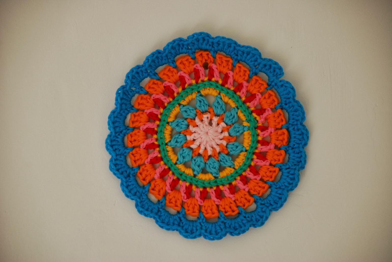image of crochet mandala