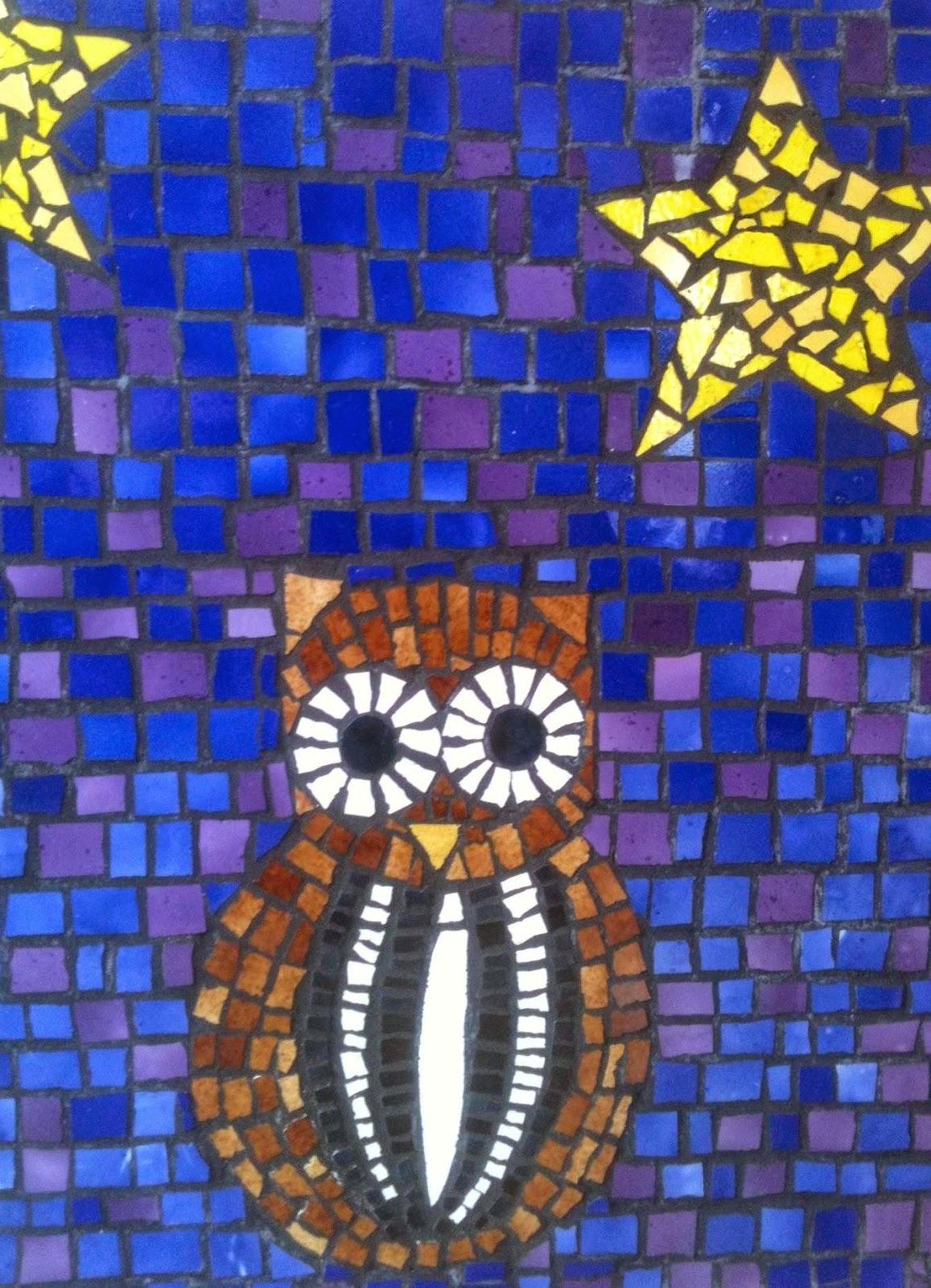 Taller de montevideo cursos de mosaicos para adultos y ni os - Dibujos de pared para ninos ...