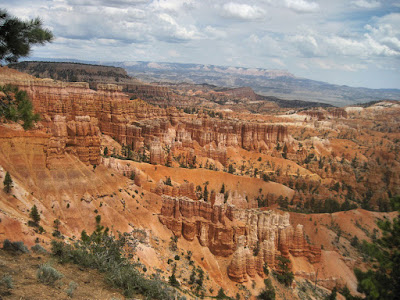 Our first view of Bryce Canyon - Wow!