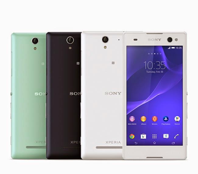 Sony Xperia C3 smartphone, Sony, smartphone
