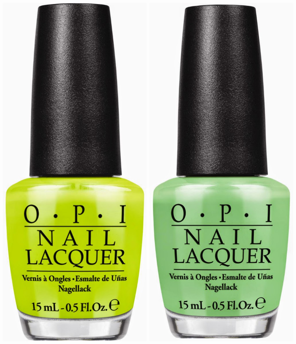 OPI Summer 2014 Little Bits Of Neon Nail Polishes: Review
