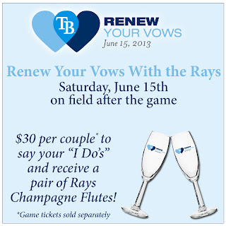 Rays Renew Your Vows
