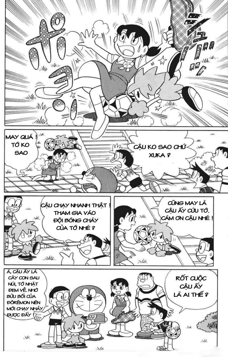 Truyện tranh Doraemon Dài Tập 25 - Nobita và truyền thuyết thần rừng trang 27