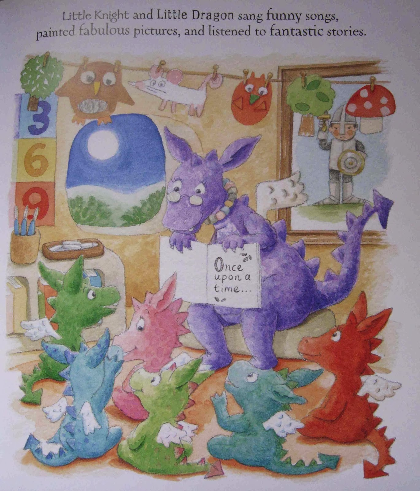 Picture Book Den The Wonderful Rule Of 3 By Natascha Biebow