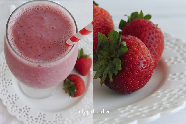 http://www.curlygirlkitchen.com/2013/07/healthy-strawberry-milkshake.html