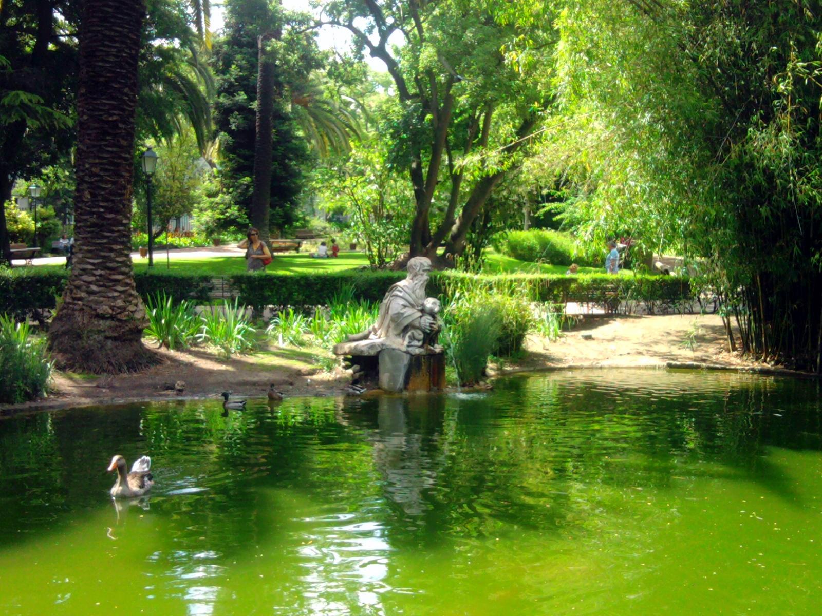Promenade dans lisbonne le jardin de estrela for Le jardin des epilobes