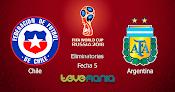 Ver Chile vs Argentina en Vivo por canal CMD - Eliminatorias Rusia 2018