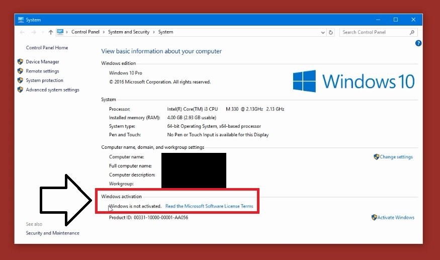 Activate windows 10 permanently any edition for free without steps to activate windows 10 ccuart Choice Image