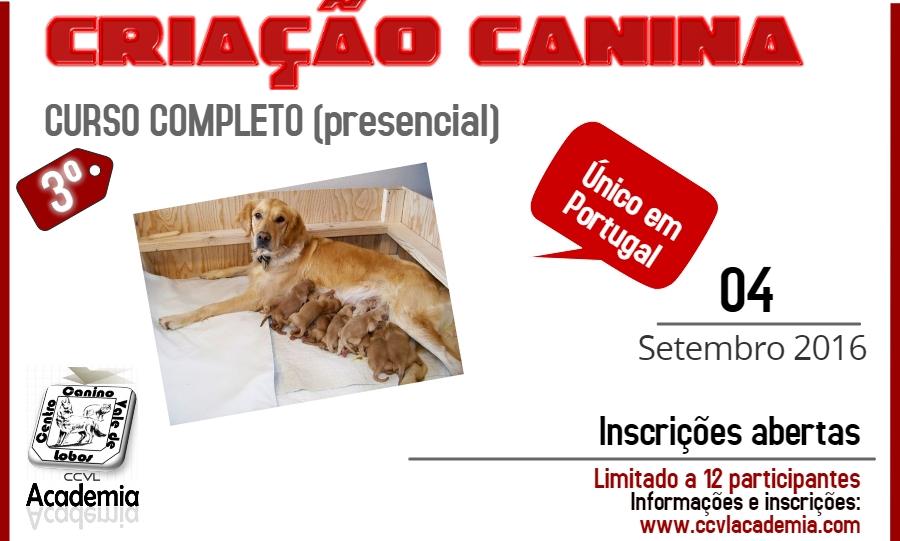 3ª Curso Completo de Criação Canina