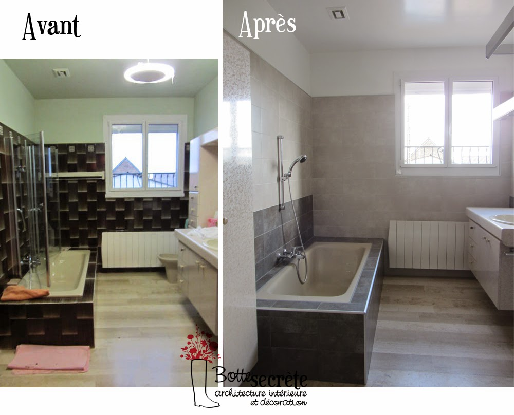 La botte secr te home staging - Repeindre le carrelage d une salle de bain ...