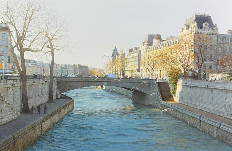Un París irresistible en acuarelas de Thierry Duval