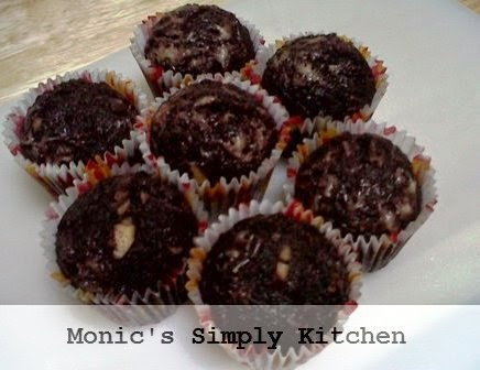resep muffin keju ketan hitam kukus