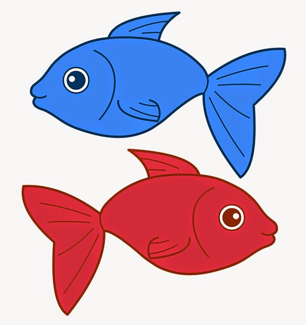 C p lesley novelist red fish blue fish for Red fish blue fish
