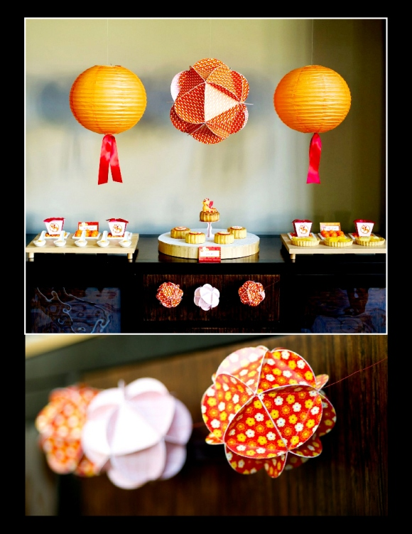 A chinese lunar new year party party ideas party for Asian party decoration