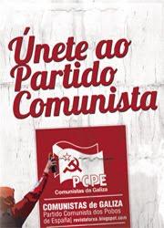 Únete ao Partido Comunista!