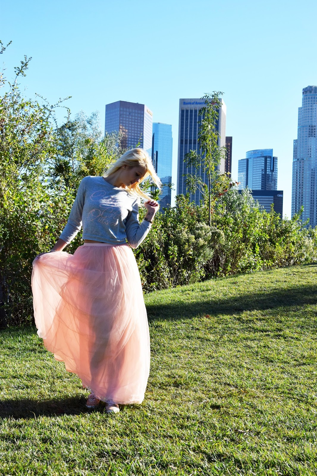 tulle skirt, lulus, dtla, los angeles, sex and the city, carrie bradshaw