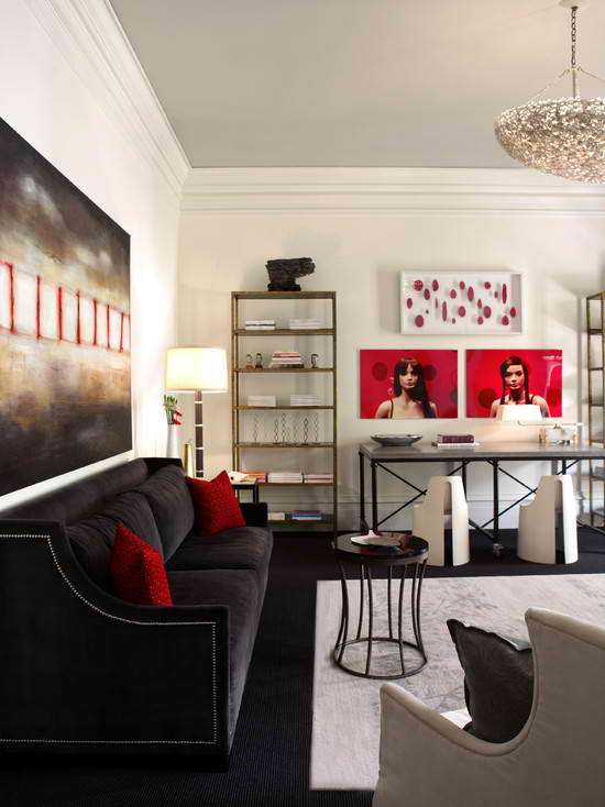 10 urban sophisticated living area styles for Living room ideas urban
