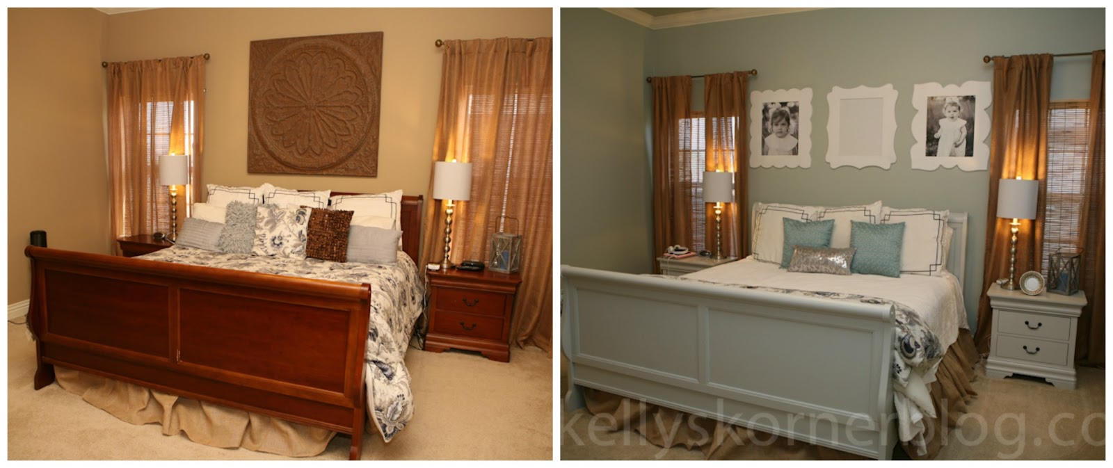 Painting Bedroom Furniture Before And After Kellys Korner Some Little House Tweaks