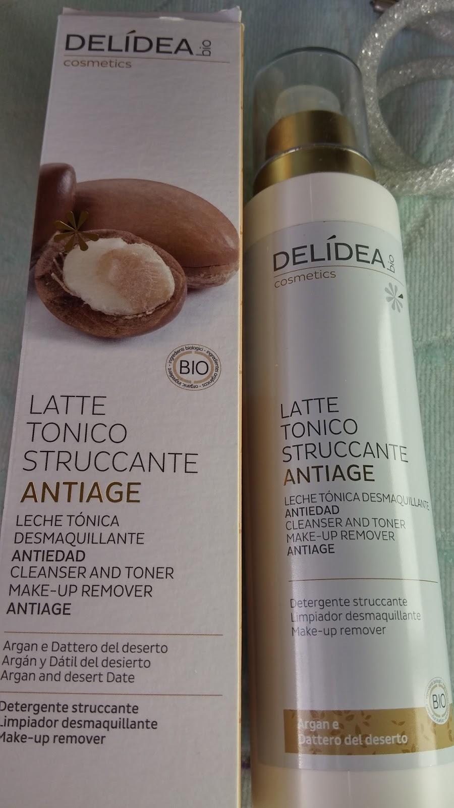 Delidea Bio Cosmetics, Latte tonico struccante antiage