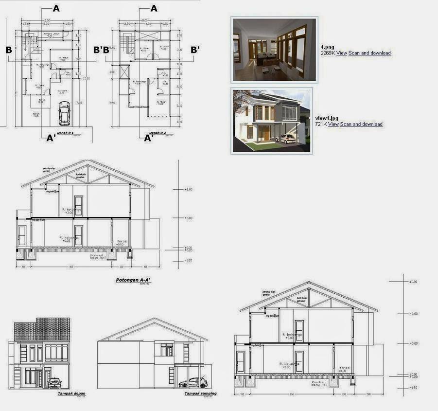 jasa desain rumah murah june 2014