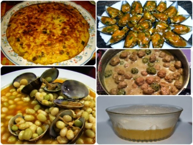 Menú con cinco recetas nº 16