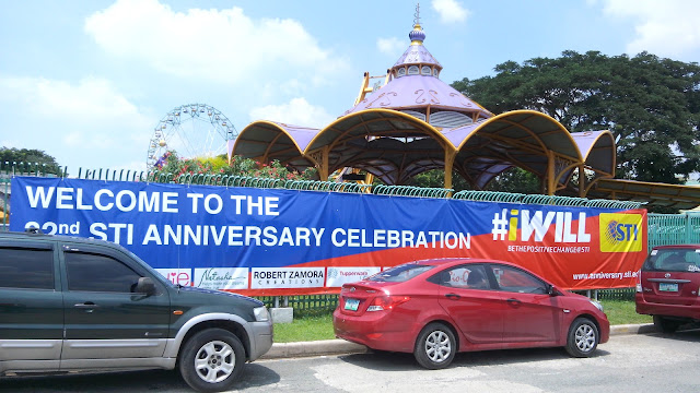 STI's 32nd Anniversary celebration in Enchanted Kingdom in Sta. Rosa, Laguna, last September 25, 2015!