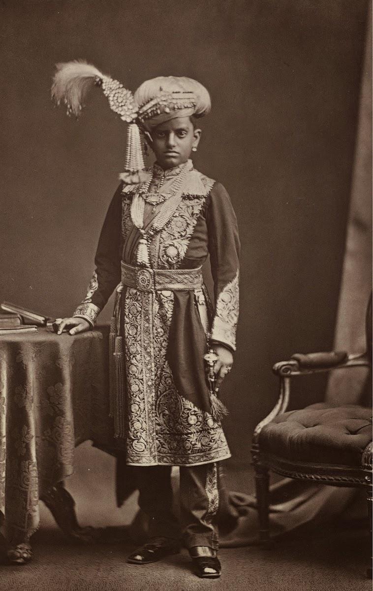 Maharaja of Mysore Chamarajendra Wadiyar X - 1877