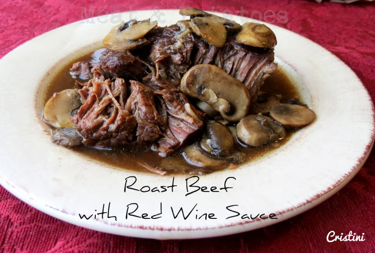 ... , Recipes and More!: Slow Cooker Roast Beef with Red Wine Sauce