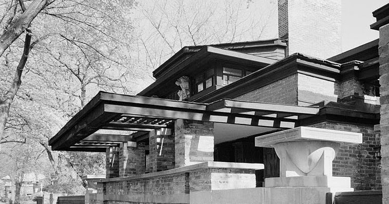 Frank lloyd wright frank lloyd wright home and studio for Frank lloyd wright list of houses
