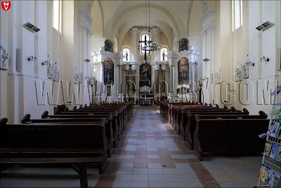 Убранство костела Святого Архангела Михаила