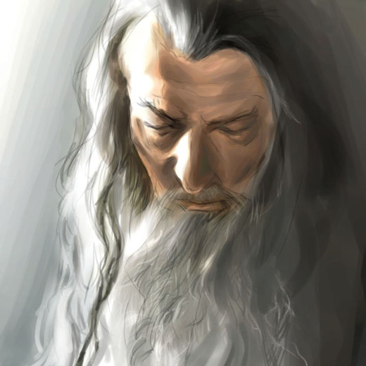 Gandalf the Grey por bickbong