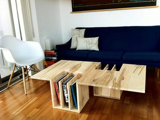 picture desk design wood minimalist original - Wood Desk Design