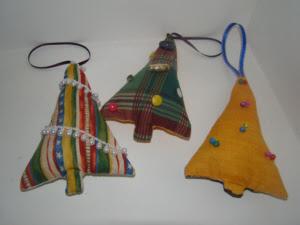 Christmas Tree Lavender Bags