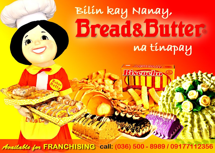 Bread & Butter, Special bread for special people!