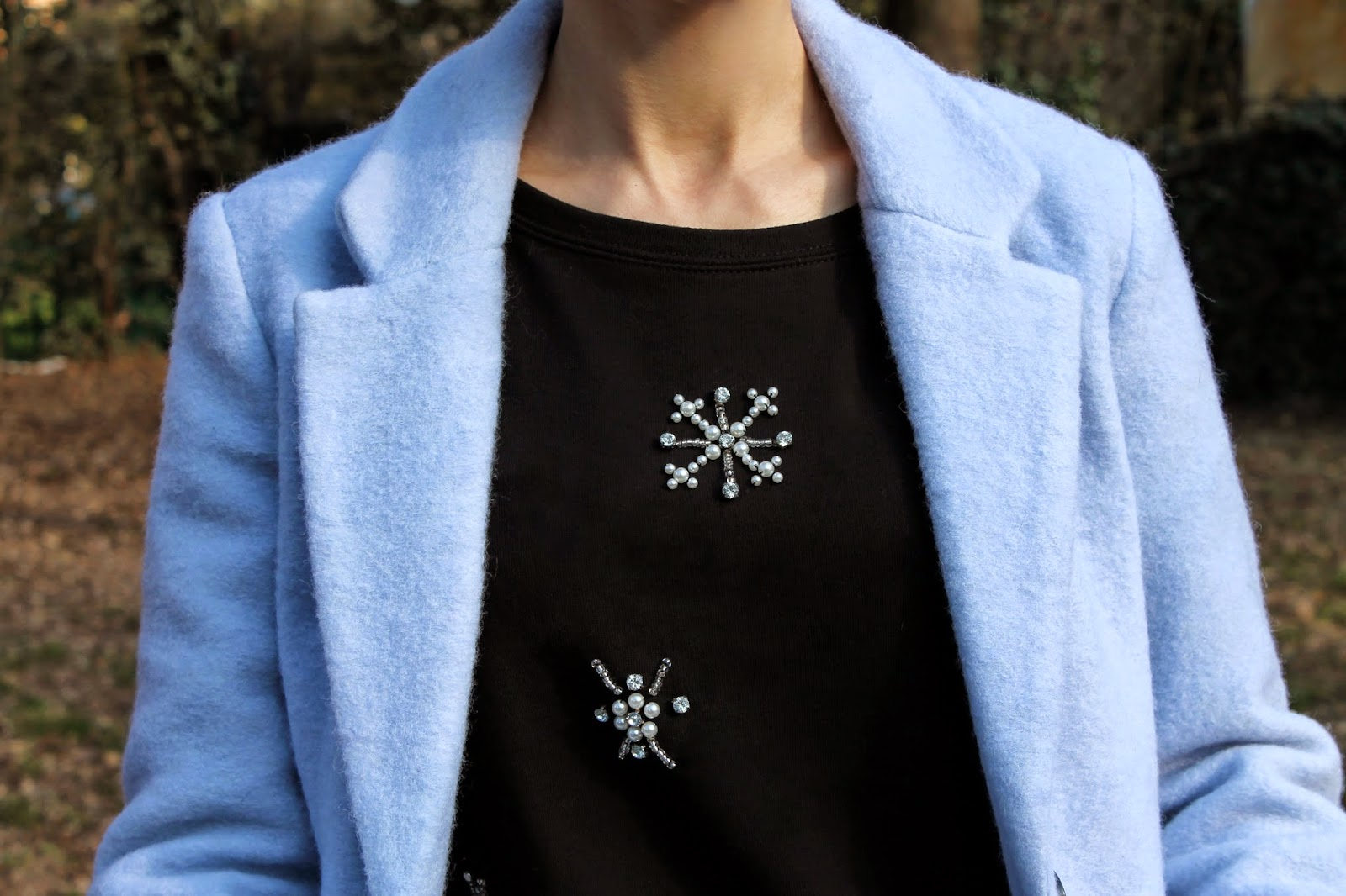 jewelry sweater