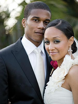 Tia Mowry Wedding Photos