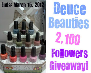 Win OPI holland collection
