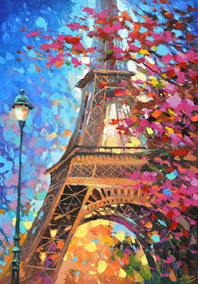 Cuadro Con La Torre Eiffel