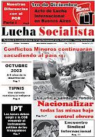 Periódico Lucha Socialista Nº 30