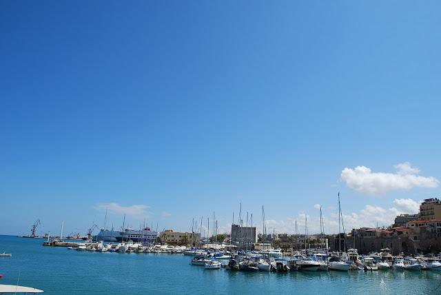 Порт Ираклиона.