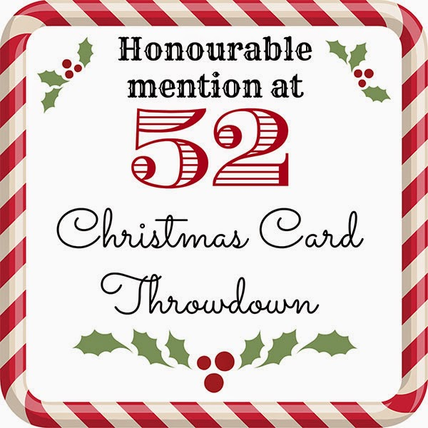 "52 {Christmas} Card Throwdown July ""Pick a Previous"" challenge"