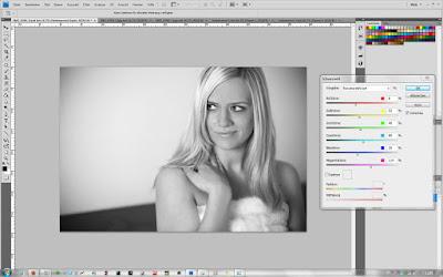 Schwarzweiß - Farbtöne in Photoshop