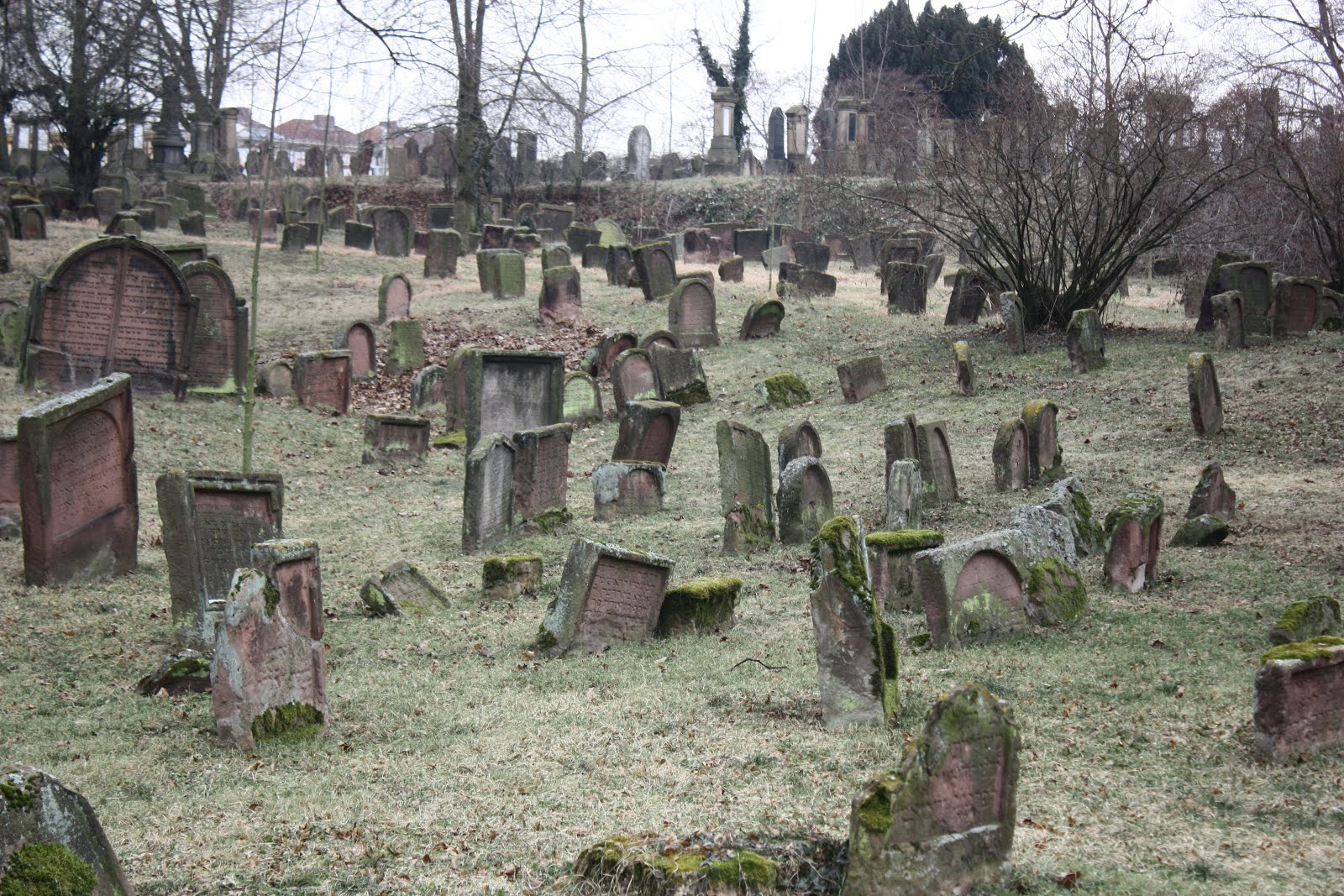 Jewish Cemetery Worms, Germany