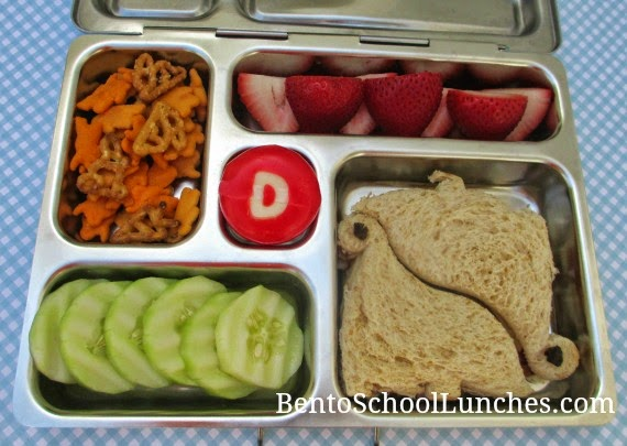 Dinosaurs, bento school lunch, planetbox