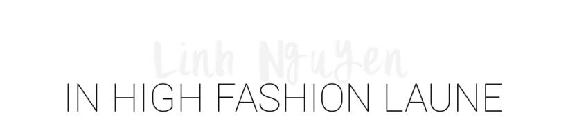 in high fashion laune | Lifestyle- & Fashionblog