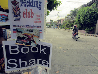the library on Balagtas Street