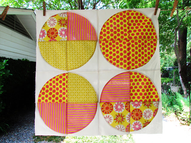 Sew, Mama, Sew! BOM 3 - Hour By Hour big sized quilt block